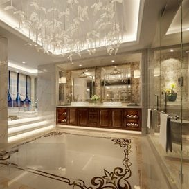 3d66 bath-room-D002-european-style