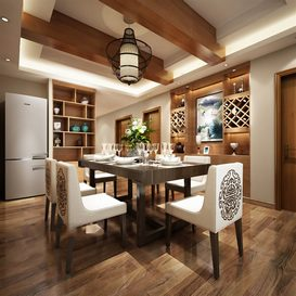 3d66 kitchen-C017-chinese-style -Download  free -3d Models Maxbrute