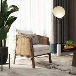 Cane chair 3d model 1