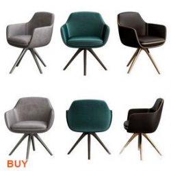 Rolf Benz Chair C36 3d model Download Maxbrute Furniture Visualization