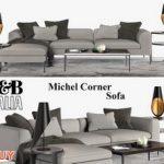 Michel Corner  Sofa P79