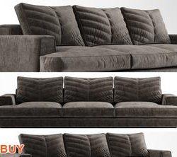 Xavier Sofa P145 3d model Download Maxbrute Furniture Visualization