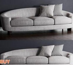 Baker ELLIPSE Sofa P174 3d model Download Maxbrute Furniture Visualization