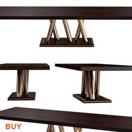 Plinto Dining Set 111 3d model Download Maxbrute Furniture Visualization