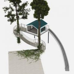 Treehouse 3d model Download Maxbrute Furniture Visualization