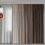 A set of curtains 12 Beige gamma 3d model Download Maxbrute Furniture Visualization