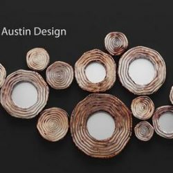 Circle Cluster Wall Decor 3d model Download Maxbrute Furniture Visualization