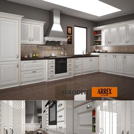 Kitchen AFRODITE f-ARREX 3d model Download Maxbrute Furniture Visualization