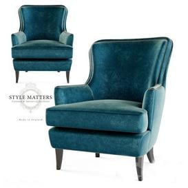 Style Matters - FH 106 Armchair 3d model Download Maxbrute Furniture Visualization