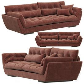 Roche Bobois ORIGINEL Large 4-seat Sofa 3d model Download Maxbrute Furniture Visualization