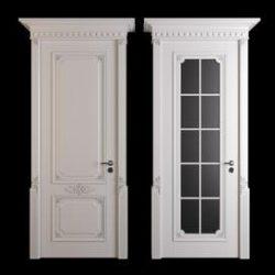 classic door02 3d model Download Maxbrute Furniture Visualization