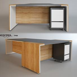 Estel - Loop 3d model Download Maxbrute Furniture Visualization