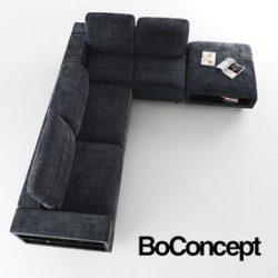 Hampton BoConcept 3d model Download Maxbrute Furniture Visualization