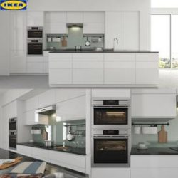 IKEA VOXTORP 3d model Download Maxbrute Furniture Visualization