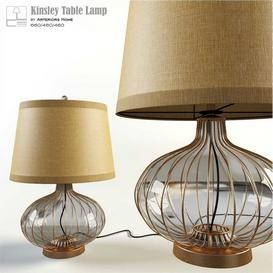 Kinsley Table Lamp 3d model Download Maxbrute Furniture Visualization