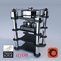 TRANSROTOR RONDINO NERO FMD & AYON AUDIO TRITON 3d model Download Maxbrute Furniture Visualization
