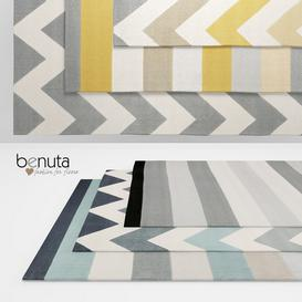 Benuta Dessert Rugs 3d model Download Maxbrute Furniture Visualization
