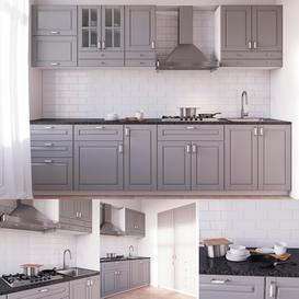 BODBYN Kitchen 3d model Download Maxbrute Furniture Visualization