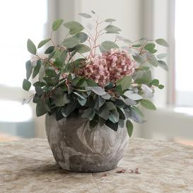 Bouquet of Eucalyptus with Hydrangea 3d model Download Maxbrute Furniture Visualization