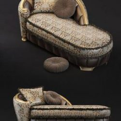 CHAISE LONGUE Goldconfort 3d model Download Maxbrute Furniture Visualization