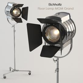 Eichholtz - Floor Lamp MGM Grand 3d model Download Maxbrute Furniture Visualization