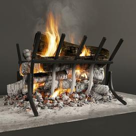Fireplace F31 3d model Download Maxbrute Furniture Visualization