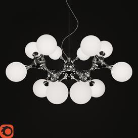Ideal Lux Nodi SP15 Bianco 3d model Download Maxbrute Furniture Visualization