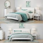 Pottery Barn Crosby White Bedroom set