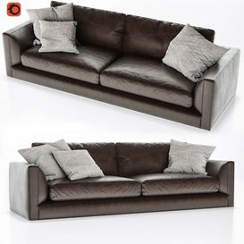 B&B Italia Richard Sofa 2 3d model 3dsmax  Download -Buy -Maxbrute Furniture