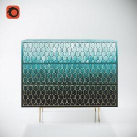 Bethan Gray Nizwa Chest 3d model 3dsmax  Download -Buy -Maxbrute Furniture