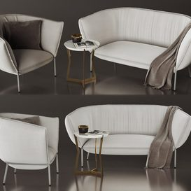 COedition Set 3d model 3dsmax  Download -Buy -Maxbrute Furniture