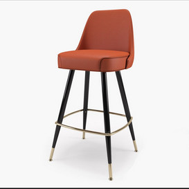Richardon Seating s Bar Stool 3d model Download Maxbrute Furniture Visualization