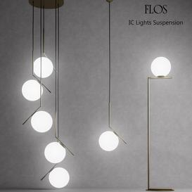 Flos IC Lights 3d model Download Maxbrute Furniture Visualization