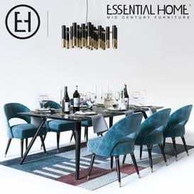Dining and serving 3d model Download Maxbrute Furniture Visualization