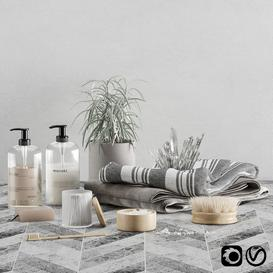 Bathroom set 04 3d model Download Maxbrute Furniture Visualization