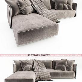 FLEXFORM Edmond 3d model Download Maxbrute Furniture Visualization