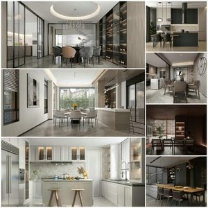 Dining room vol1 2021 3d model 3dsmax  Download -Buy -Maxbrute Furniture