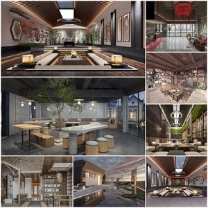 Clubhouse Entertainment vol2 2021 3d model 3dsmax  Download -Buy -Maxbrute Furniture